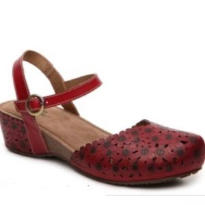 Spring Step wedge sandals 36